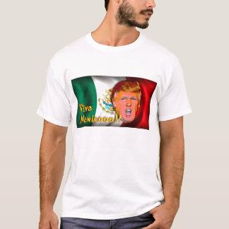 ¡Viva México!!! Camiseta del triunfo de