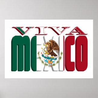 VIVA MÉXICO POSTER