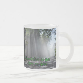 Viva para dar la taza