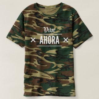 Vive Ahora - VA Camo Camiseta