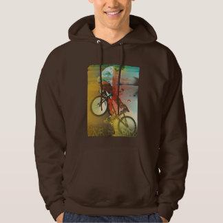 Vive el paseo BMX, bici del deporte, sudadera con