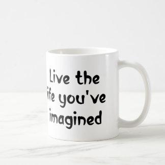 Vive el regalo de motivación de las tazas de café