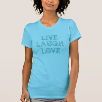 Vive la camiseta de la turquesa del amor el | de