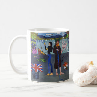 Vivian y taza del Towpath de Ki - arte por Sydney