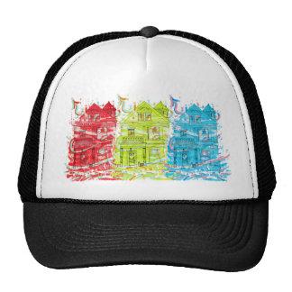 vivienda de la camiseta gorras
