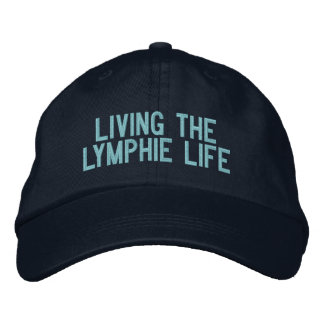 Viviendo la gorra de béisbol de la vida de Lymphie