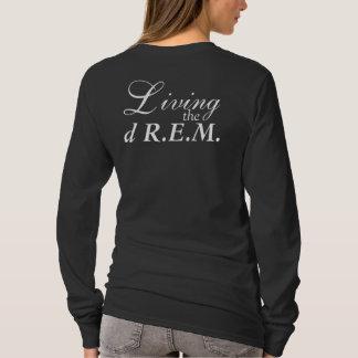 Viviendo la manga larga T de dR.E.M Camiseta