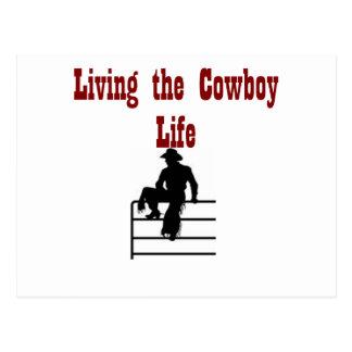 Viviendo la vida del vaquero postal