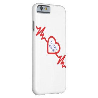 Vivimos 48/96 línea de vida caso del iPhone del Funda Barely There iPhone 6