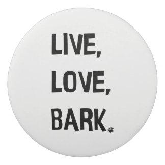 Vivo, amor, borrador de la corteza