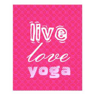 Vivo. Amor. Yoga Folleto 11,4 X 14,2 Cm