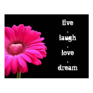 vivo, risa, amor, postal ideal