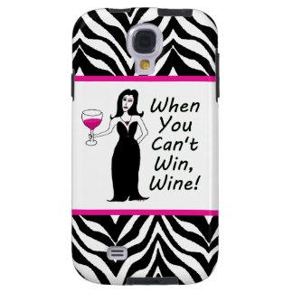 Vixen del vino cuando usted no puede ganar, Wine Funda Galaxy S4