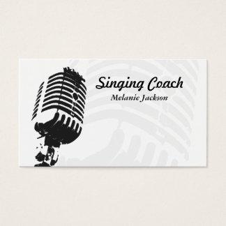 Vocalista Tarjeta De Visita