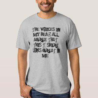 Voces de la moda camisetas