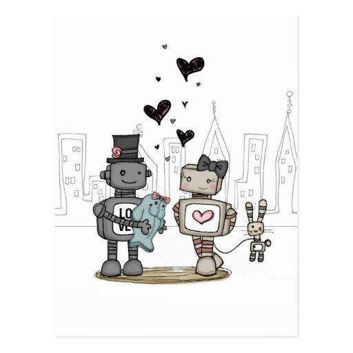 vol25 - del corazón tarjeta postal