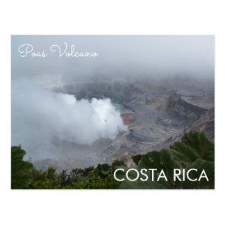 Volcán de Poas, postal de Costa Rica