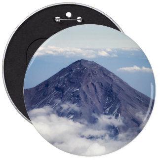 Volcán de Popocatépetl, México Chapa Redonda De 15 Cm