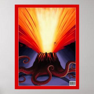 Volcanoctopus Poster