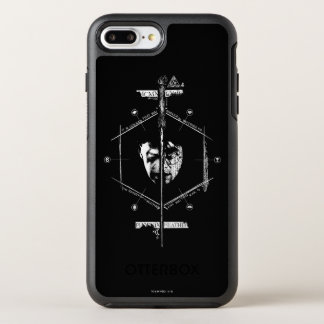 Voldemort Harry Potter hace frente apagado al Funda OtterBox Symmetry Para iPhone 8 Plus/7 Plus