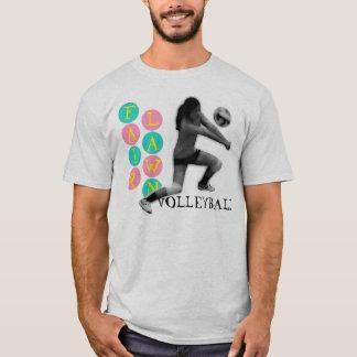 Voleibol justo del césped camiseta