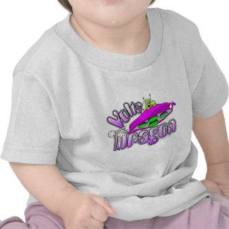 Voltios de dragón camiseta