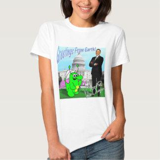 Voltios de dragón Obama Camisas