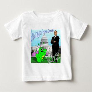 Voltios de dragón Obama Camisetas