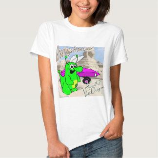 Voltios de esfinge del dragón camiseta