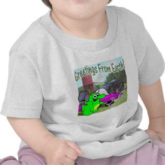 Voltios de tren del dragón 1880 camisetas