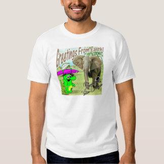 Voltios del dragón de elefante de África Camisas