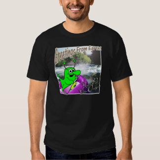 Voltios transportar en balsa del dragón camiseta
