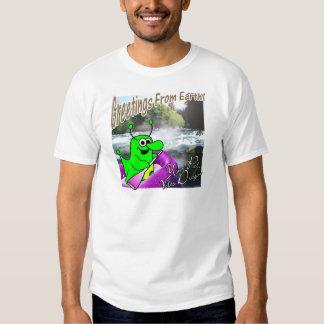 Voltios transportar en balsa del dragón camisetas