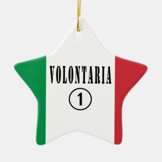 Voluntarios del italiano: Uno de Volontaria Numero Adorno Para Reyes