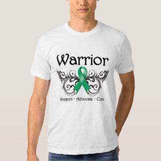Voluta del guerrero del cáncer de hígado camisetas