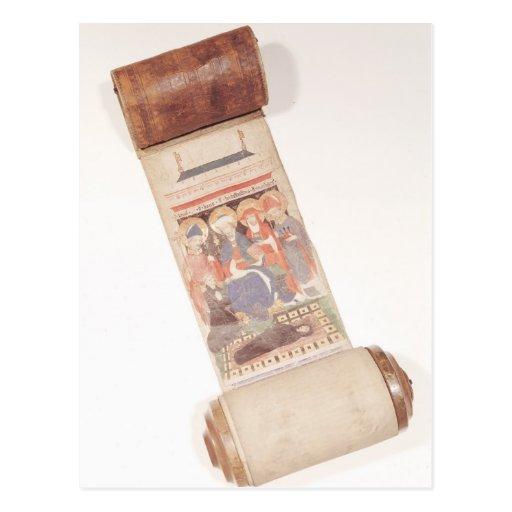 Voluta del obituario, 1406 tarjeta postal