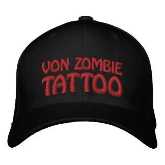 Von Zombie Tattoo 001 Gorras De Beisbol Bordadas