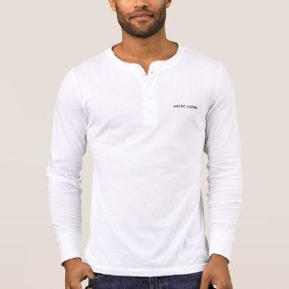 Vórtice ártico Henley Camisetas