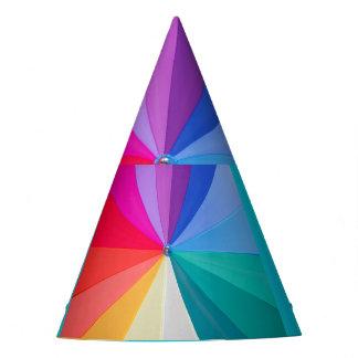 vórtice multicolor en el gorra de encargo del