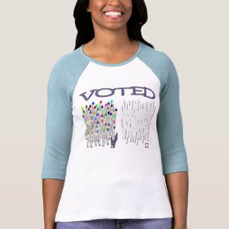 ¡Votado! Camisetas