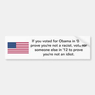 Votado por Obama Pegatina Para Coche