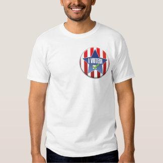 ¡Voté! Camisetas