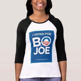 Voté por BO y Joe Camisetas