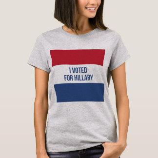 Voté por camiseta de la elección de las mujeres de