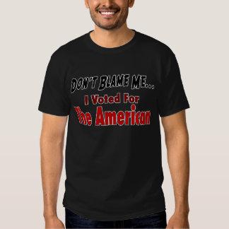 Voté por el americano camisetas