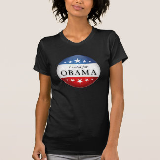 Voté por Obama Camiseta