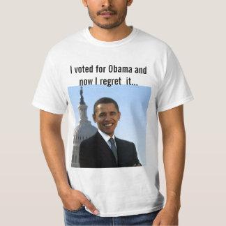 Voté por Obama Camisetas
