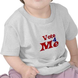 Voto 4 yo camiseta