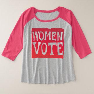 Voto de las mujeres - rosa persistente
