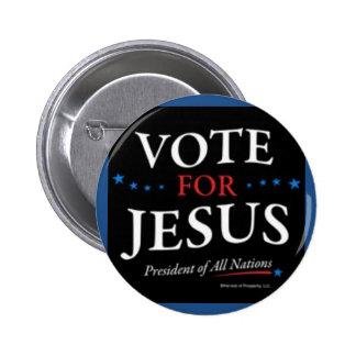 Voto para el botón de Jesús